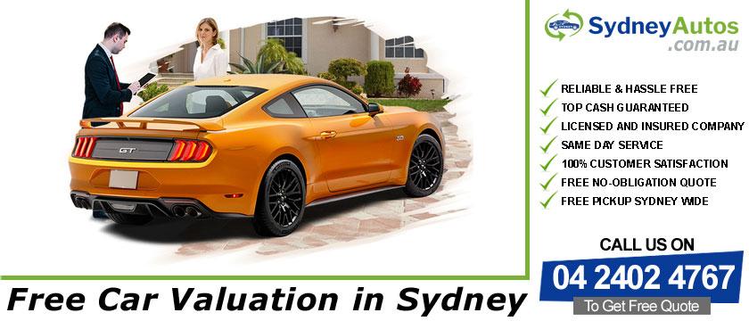 Free Car Valuation
